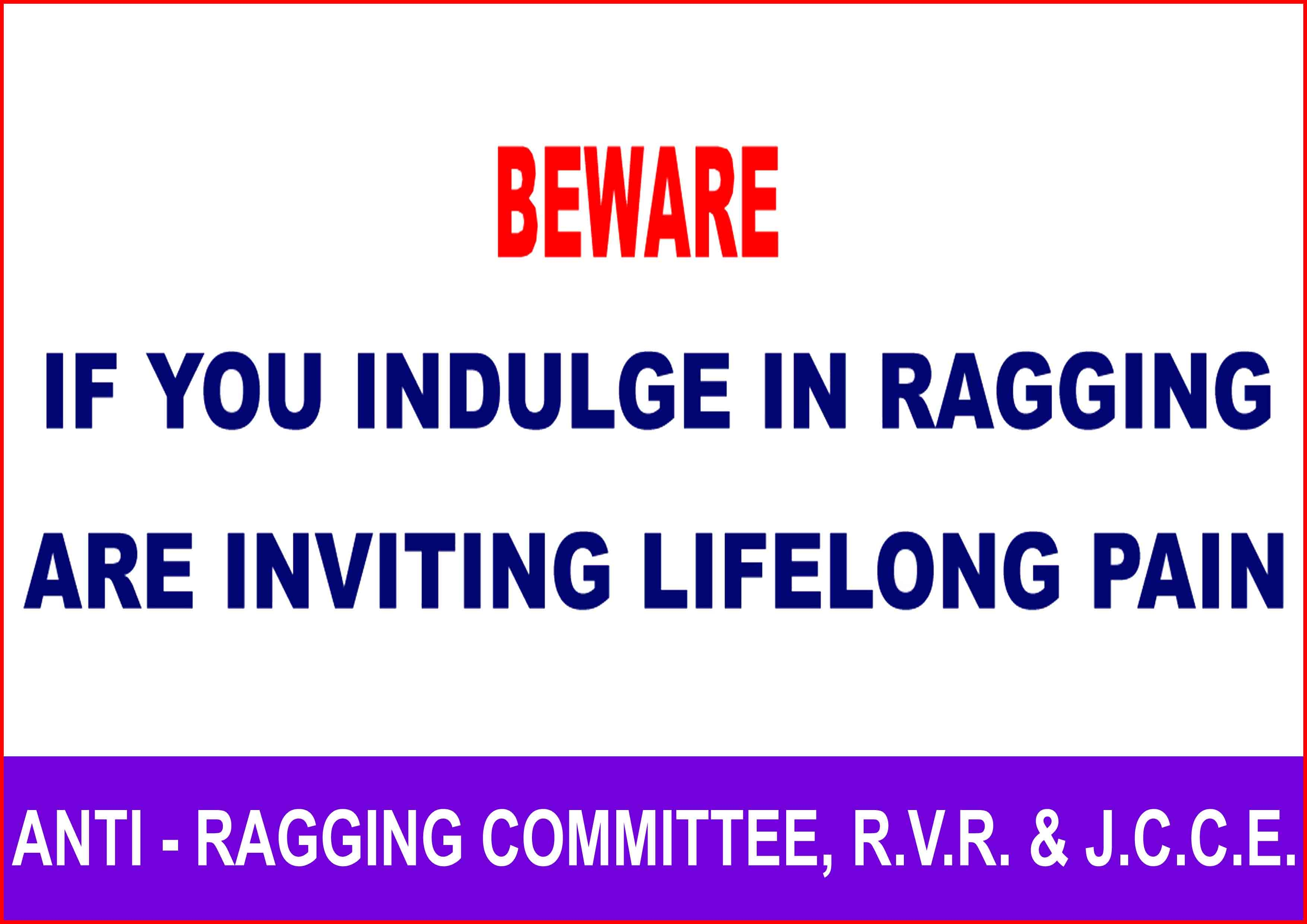 about ragging